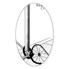 NYC Bike L Decal