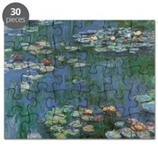 Claude Monet Water Lilies Puzzle