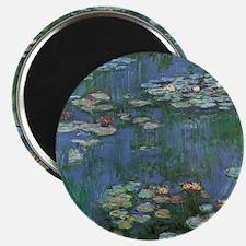Claude Monet Water Lilies Magnet