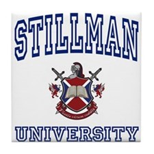 STILLMAN University Tile Coaster