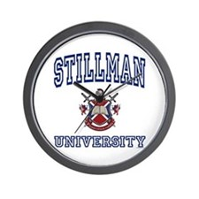 STILLMAN University Wall Clock