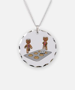 Gingerbread Men Defense Necklace