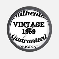 Authentic Vintage 1969 Wall Clock