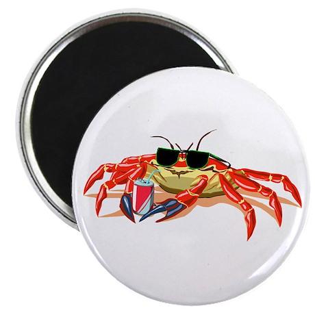 Cool Cancer Crab Magnet