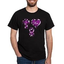 CF Faith Hope Cure Sq T-Shirt