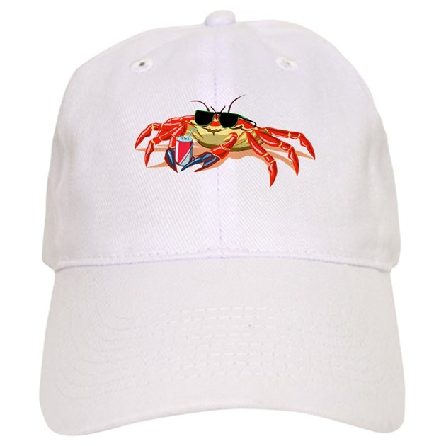 cool cancer crab cap by sillyfunstuff