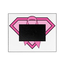 Superman Inspired Breast Cancer Pink Picture Frame