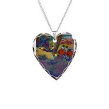 Degas Necklace Heart Charm