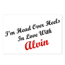 In Love with Alvin Postcards (Package of 8)