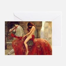 John Colloer Lady Godiva Greeting Card