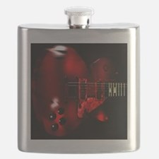 Big Red Flask
