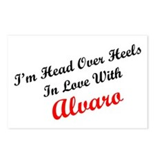 In Love with Alvaro Postcards (Package of 8)