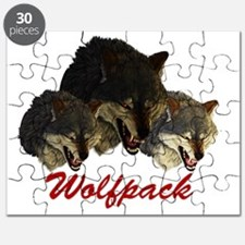 Wolfpack Front Puzzle