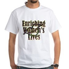 enriching women's lives kiss copy T-Shirt