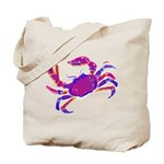 Cancer Crab Art Tote Bag