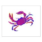 Cancer Crab Art Small Poster