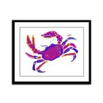 Cancer Crab Art Framed Panel Print