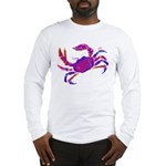 Cancer Crab Art Long Sleeve T-Shirt