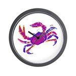 Cancer Crab Art Wall Clock