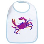 Cancer Crab Art Bib