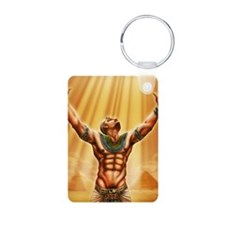 Son-of-Ra Aluminum Photo Keychain