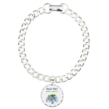Beat Me Billiard Sea Dragons Charm Bracelet