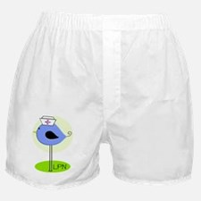 LPN bird blue Boxer Shorts