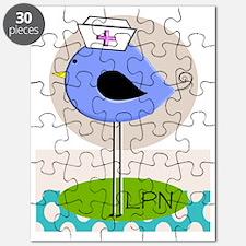 LPN bird purple Puzzle