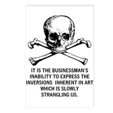 Art: Businessman's Inability Postcards (8)
