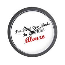 In Love with Alonzo Wall Clock