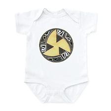MIMBRES FAN BOWL DESIGN Infant Bodysuit