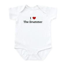 I Love The Drummer Onesie