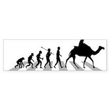 Camel-Riding Bumper Sticker