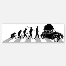 Car-Traveller Bumper Bumper Sticker