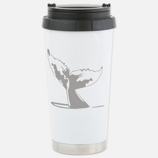 Humpback Whale Tail Stainless Steel Travel Mug