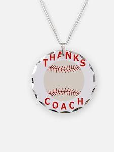Baseball Coach Thank You Gif Necklace