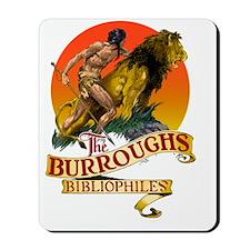 Burroughs Bibliophiles Logo in Color Mousepad