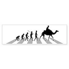 Camel-Riding-B Bumper Sticker