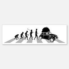 Car-Traveller-B Bumper Bumper Sticker