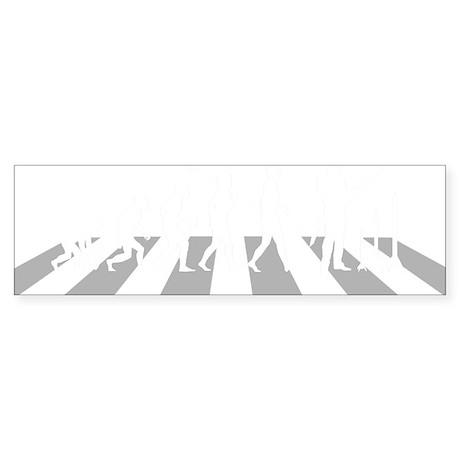 Model-Rocket-A Sticker (Bumper)