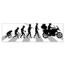 Motorcycle-Traveller Bumper Sticker