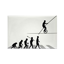 High-Wire-Unicycle Rectangle Magnet