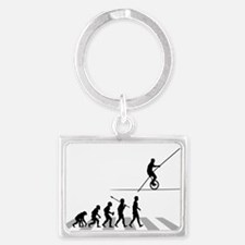 High-Wire-Unicycle Landscape Keychain