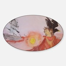 The Dark Tower Watercolor Painting  Decal