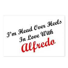 In Love with Alfredo Postcards (Package of 8)