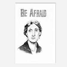 Be Afraid Postcards (Package of 8)