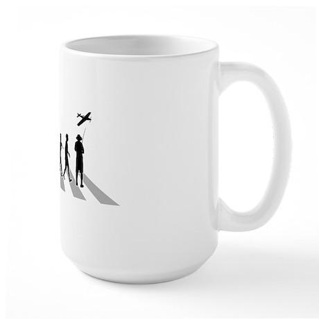 Remote-Control-Aeroplane-B Large Mug