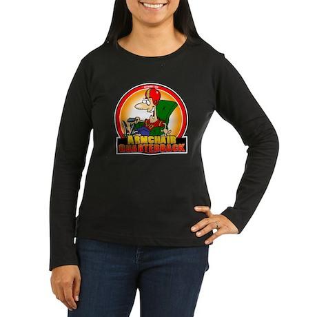 Armchair Women's Long Sleeve Dark T-Shirt