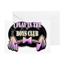 Boys club png Greeting Card