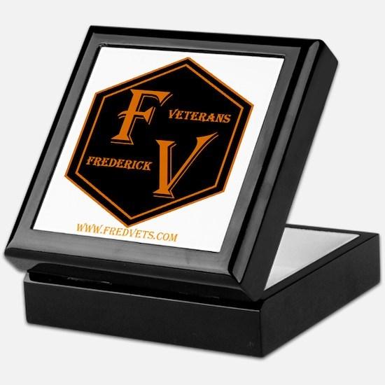 FredVets TShirt Logo Keepsake Box
